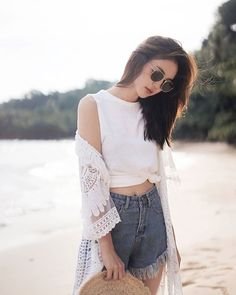 Life is as simple or complicated as we make it :) ❤️ Look Fashion, Korean Fashion, Girl Fashion, Womens Fashion, Ulzzang Fashion Summer, Pretty Outfits, Stylish Outfits, Cool Outfits, Girls Fashion Clothes