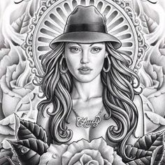 No tattoos on me but Chicana tattoo art is beautiful. Chicano Tattoos, Amor Chicano, Chicano Style Tattoo, Chicano Love, Chicano Drawings, Art Drawings, Boog Tattoo, Tattoo Flash, Lowrider Tattoo