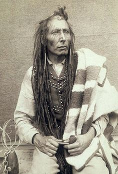 Chief Poundmaker was born in Rupert's Land, near present day Battleford [Fort]; the child of Sikakwayan, an Assiniboine medicine man, and a mixed-blood Cree woman, the sister of Chief Mistawasis.