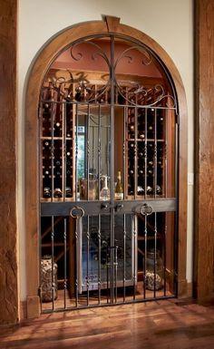 2003 Street of Dreams traditional wine cellar
