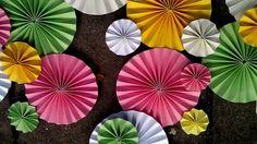 Pinwheel Aisle Decor