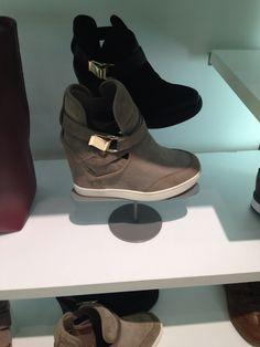 Aldo wedged sneaker heels