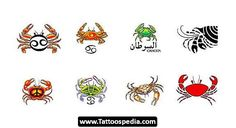 Cancer Zodiac Tattoos Designs 09 - Tattoospedia