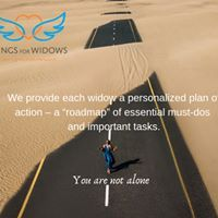 Wings for Widows guides widows through the shocks of early widowhood.