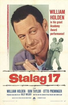 Stalag 17 is a 1953 war film which tells the story of a group of American airmen held in a German World War II prisoner of war camp, who come to suspect that one of their number is an informant. It was adapted from a Broadway play.