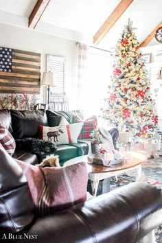 Cozy Christmas Home Tour - A Blue Nest