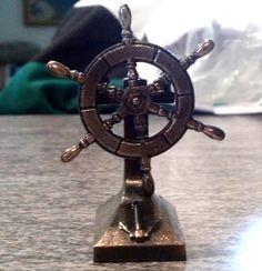 Vintage Japanese Pencil Sharpener Ship Captains Wheel With Spinning Wheel Sigma Lambda Gamma, Captain Universe, Pencil Sharpener, Best Memories, Vintage Japanese, Spinning, Spirit, Ship, Ebay