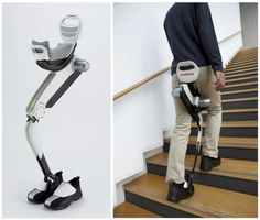 This is a product that could be very helpful with people who cannot walk at this time, or lack the lower body strength in order to walk.
