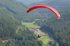 Parapente by Moselle Tourisme, via Flickr - #enjoymoselle #Moselle #Lorraine #France More to discover on http://www.moselle-tourism.com/en/things-to-do/walking-and-outdoor-activities.html