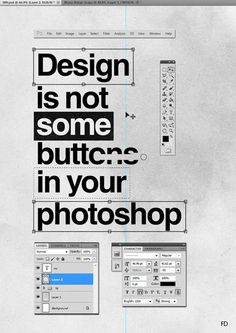 Typographic Quotes: Something To Believe In 51 #quote #photoshop