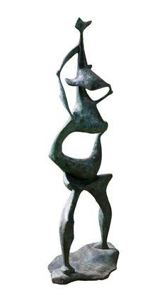 Edoardo Villa bronze Modern Sculpture, Bronze Sculpture, Garden Sculpture, South African Art, Folk Music, Source Of Inspiration, Art Forms, Archaeology, Sculpting