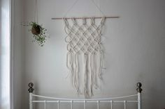 Super+Super Blog | Craft blog based in Brighton, UK. Check out oue #wallhanging #tutorial its super easy to make at home x