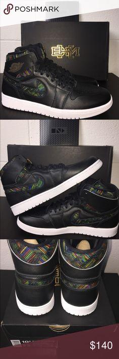 DS Air Jordan 1 BHM 10.5 Brand new Air Jordan BHM sz 10.5 Air Jordan Shoes Sneakers