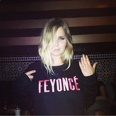 hahaha FEYONCE!!! He put a ring on it! laughing out loud