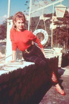 Brigitte in Nice, i'd say in the 1950s
