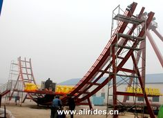 amusement flying disk'O UFO ride theme park equipment for sale | Ali Brothers Amusement Rides