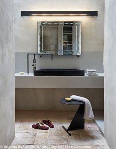 Une salle de bains toute en simplicité