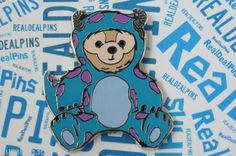 Disney Trading Pin Duffy Bear Sulley Costume Monsters Inc Artist Proof Ap 96682