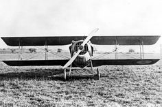 SPAD VII.Designed by Louis Béchereau around Hispano-Suiza 8 HS 150 hp developed by Marc Birgkit in 1915.Prototype flew in April 1916.Immediately showed far superior performance to aircraft then in service.268 ordered.Production took a long time to organize as only 207 were built by end of year.Production difficulties overcome,other plants produced in turn not only in France (3355) but also in England (137) & Russia (63).