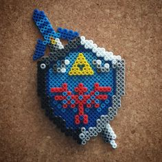 Legend of Zelda perler beads by Halemark Handcraft