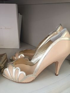 Rachel Simpson Mimosa Powder Blue Vintage Inspired Wedding Heels Www Evelyntaylorbridal Co Uk Holmfirth 01484 766160 Pinterest And