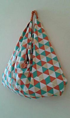 SOLD. Check out this item in my Etsy shop https://www.etsy.com/listing/213089986/origami-tote-large-korean-nesshome