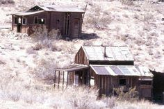 Abandoned houses in Randsburg
