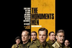 """""""The Monuments Men"""" film review http://reviewsandthecity.tumblr.com/post/77274363810/the-monuments-men-film-review"""