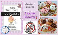 My Epicurean Adventures: Maplehurst Bakeries Peanut-Free Cupcakes GIVEAWAY! Come enter now!!!