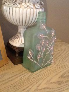 Vintage embellished bottle