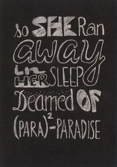 Coldplay- Paradise