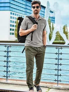 42a9d52c3e4ad Eponge-Polo in Farbe Grau Regular Fit jetzt online kaufen   Mey   Edlich
