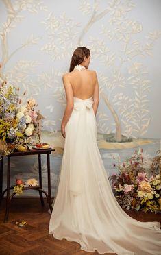 The Flower top and the Cintia skirt / Nora Sarman Bridal
