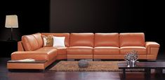 Extra Large Leather Sectional Sofa