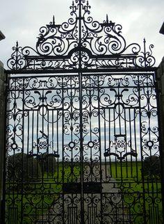 Garden Gate, Dunrobin Castle, Scotland   Flickr - Photo Sharing!