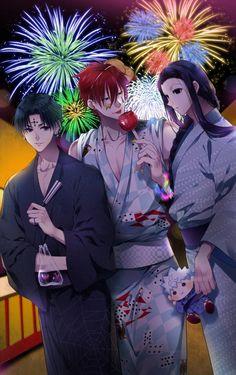 Chrollo, Hisoka and Illumi - Hunter x Hunter