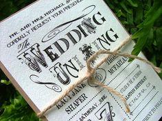 Vintage Wedding Invitations Uniting Vintage by sweetinvitationco, $100.00