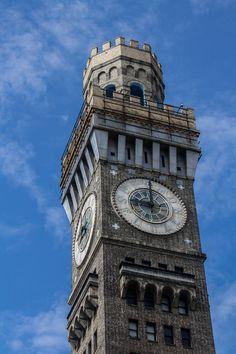 Bromo-Seltzer Tower, Baltimore, Maryland www.stephentravels.com/top5/clocks