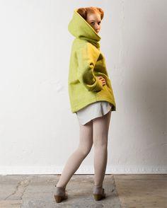 Näh Dir die Jacke Eve! Einfaches Schnittmuster für eine Jacke mit breitem Kragen.