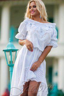 Платья chloe белый