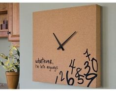 My type of clock!!