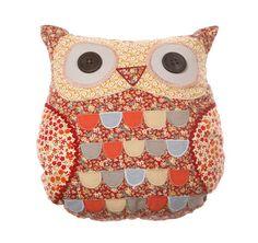 http://www.sassandbelle.co.uk/Roxie Owl Cushion with Inner