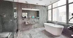 Modern gray bathroom design bathroom 1 black white gray bedroom decor luxury modern creative decor ideas home decor stores online Grey Modern Bathrooms, Contemporary Bathrooms, Modern Bathroom Design, Modern Room, Modern Design, Gray Shower Tile, Grey Bathroom Tiles, Bathroom Layout, Bathroom Ideas