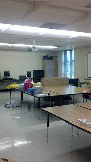 Teaching 4 Real: Classroom Set Up Craziness #1