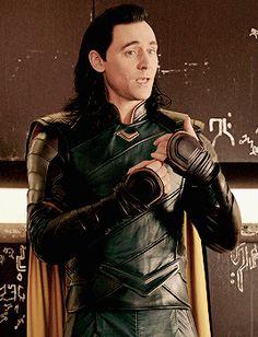 "tomhiddleston-loki: ""your savior is here! """