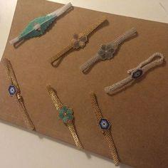 Les commandes avancent  #tictail #peyote #peyotestitch #brickstitch #miyukibeads #miyukiaddict #jenfiledesperles #jenfiledesperlesetjassume #madeinfrance #handmade #montpellier