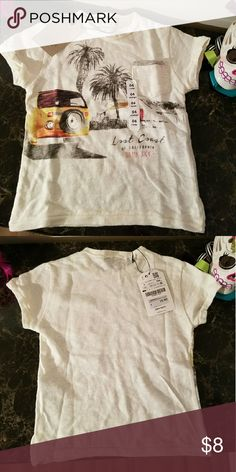 Zara boys t-shirt NWT Zara boys t-shirt Zara Shirts & Tops Tees - Short Sleeve