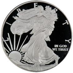 2008 W Silver American Eagle PF
