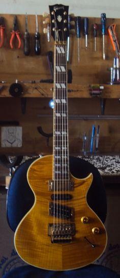 Regulagem de Gibson especial - Oficina das Guitarras Mozart