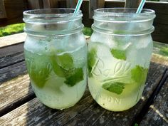 Skinny Mint Limeades - Cookin' Cowgirl